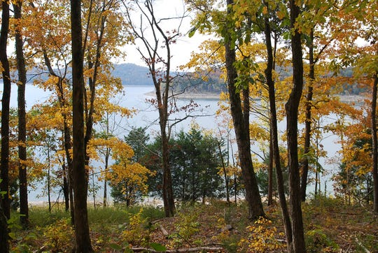 Fall is a wonderful time to hike in Edgar Evins State Park.