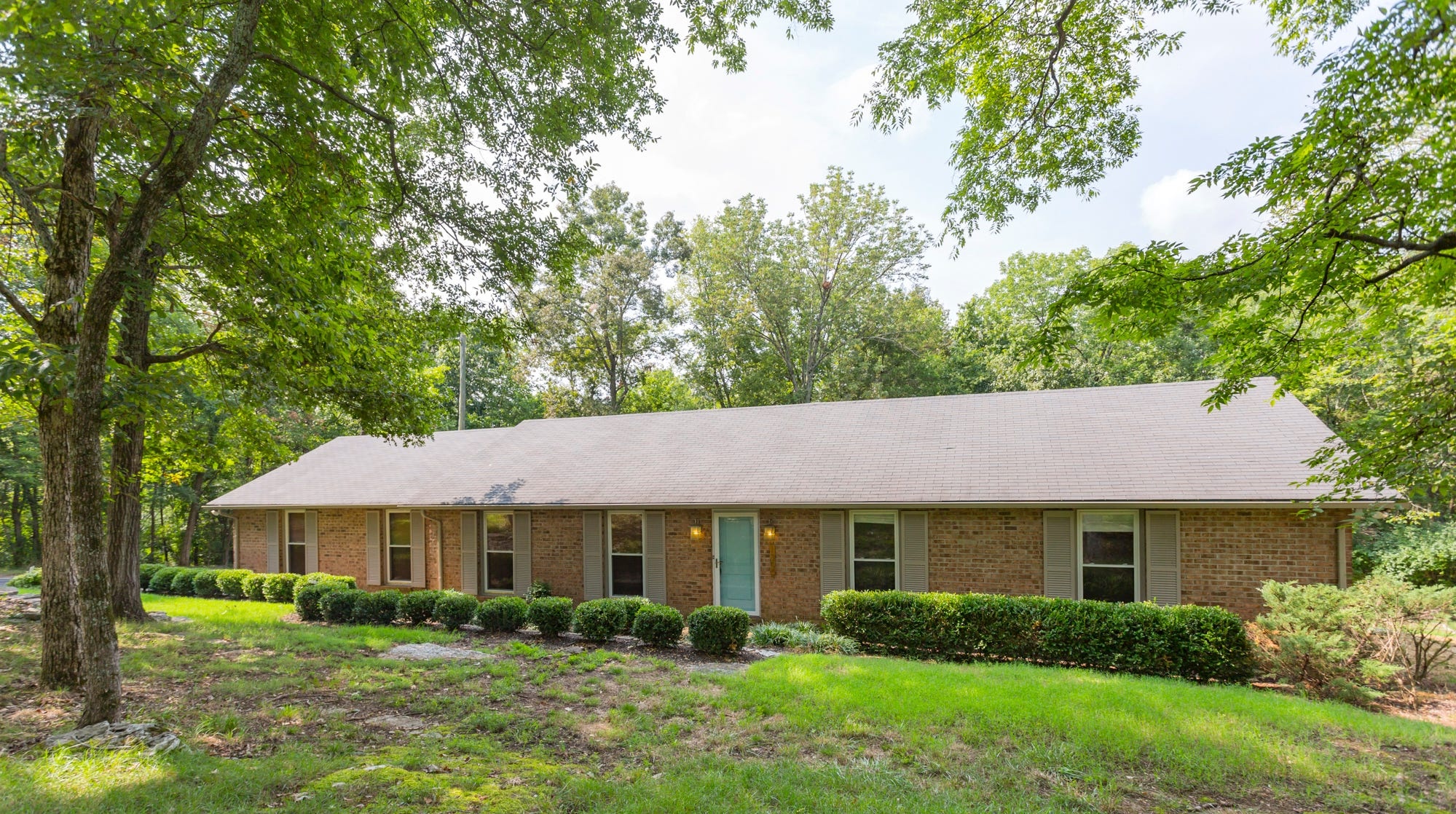 This ranch-style home off Concord Road in Brentwood offers a large yard and clean interior for under $400,000, which isn't common in Williamson County.