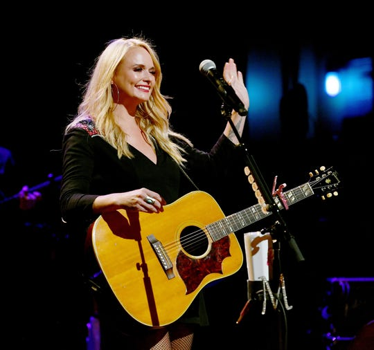 NASHVILLE, TN - SEPTEMBER 19:  Miranda Lambert performs onstage to kick off her sold out residency at The Country Music Hall of Fame and Museum on September 19, 2018 in Nashville, Tennessee.