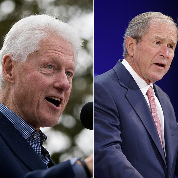 Bill Clinton, George W. Bush to speak at business conference in North Naples