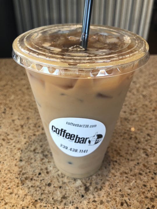 Our pick: For tea lovers, here's an Iced chai latte with an espresso shot served at Coffee Bar 239 in North Naples.