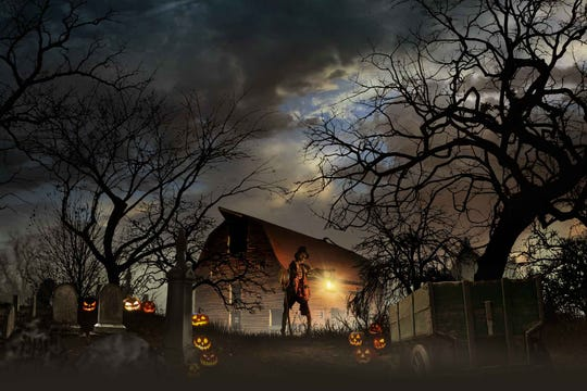 Haunted Orchards at Demarest Farms.