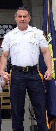 Elmwood Park Police Chief Michael Foligno