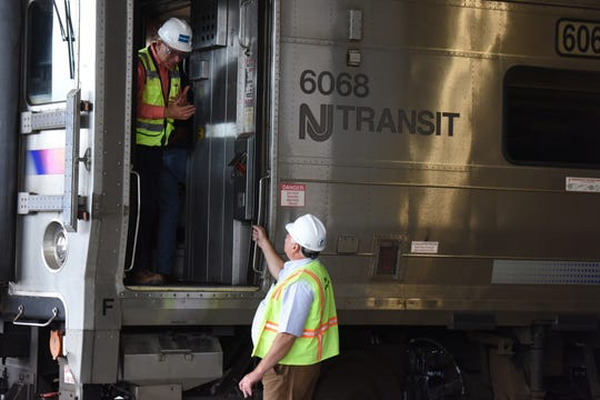 NJ Transit continues installation of federally-mandated positive train control equipment on their rail fleet. Temporary discontinuation and schedule modification will occur on some trains in order to meet deadlines, said NJ Transit Executive Director Kevin Corbett during a press conference in Piscataway on Thursday, September 20, 2018.