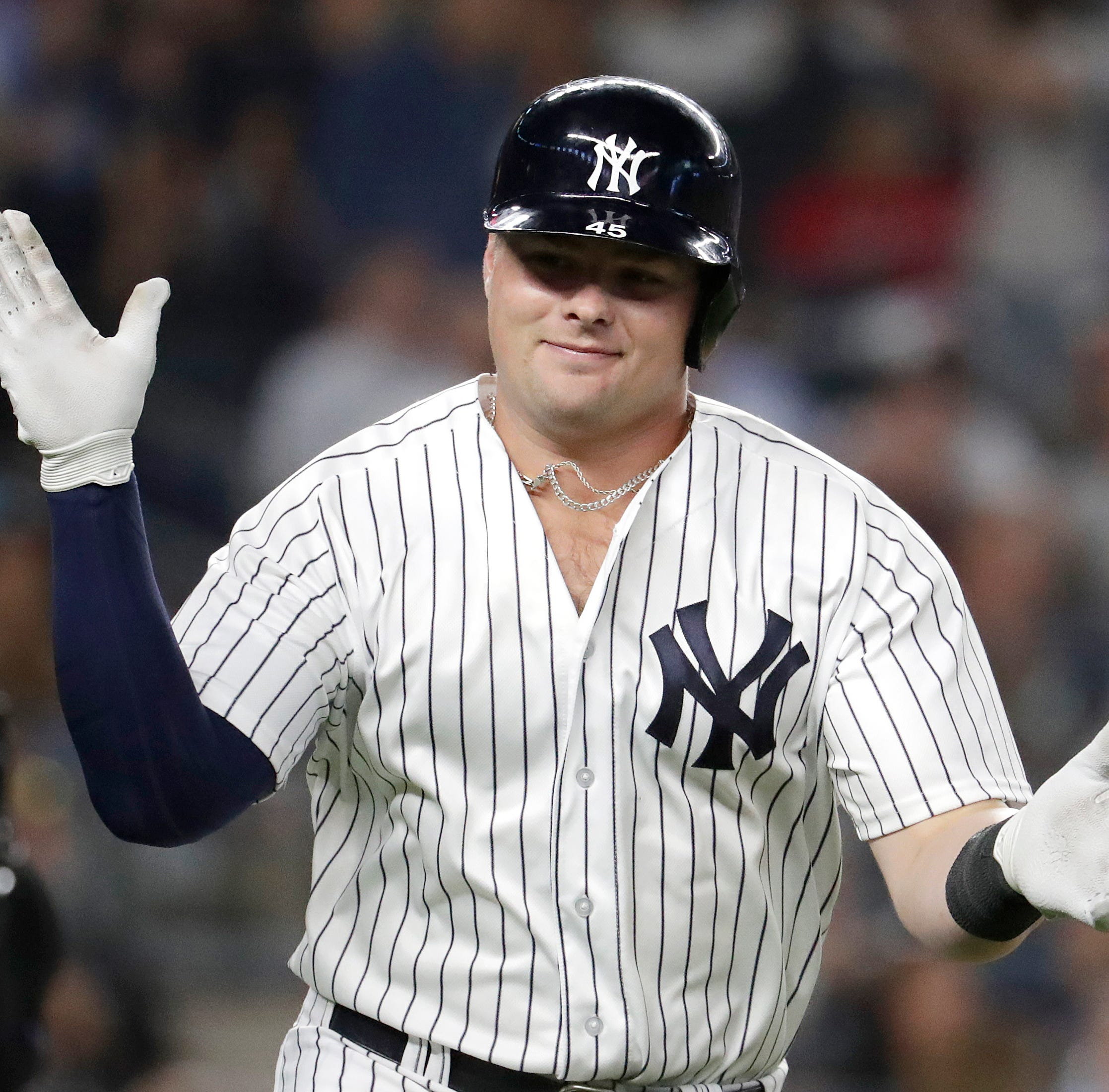 Luis Severino goes seven, Luke Voit hits two homers as Yankees beat Boston