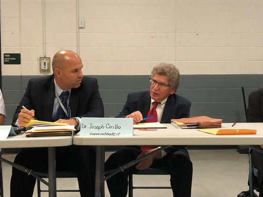 Louis Flora (Right) was terminated as the attorney of the Palisades Park board of education effective immediately on Sept. 19