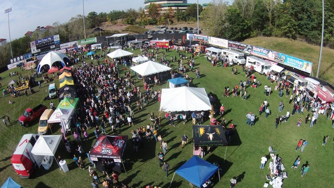 The Food Truck and Craft Beer Festival returns to the Yogi Berra Stadium.