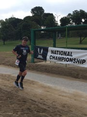 Chad Lapp participates in the US National 24-Hour Championship in Cleveland.