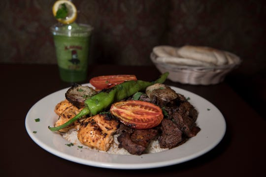 Al Basha Small Platter at Al Basha in Paterson on Wednesday, September 19, 2018.