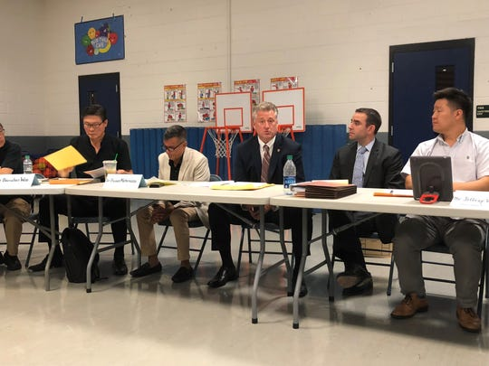 The Palisades Park board of education heard a special presentation from security consultant Raymond Hayducka on school security options.