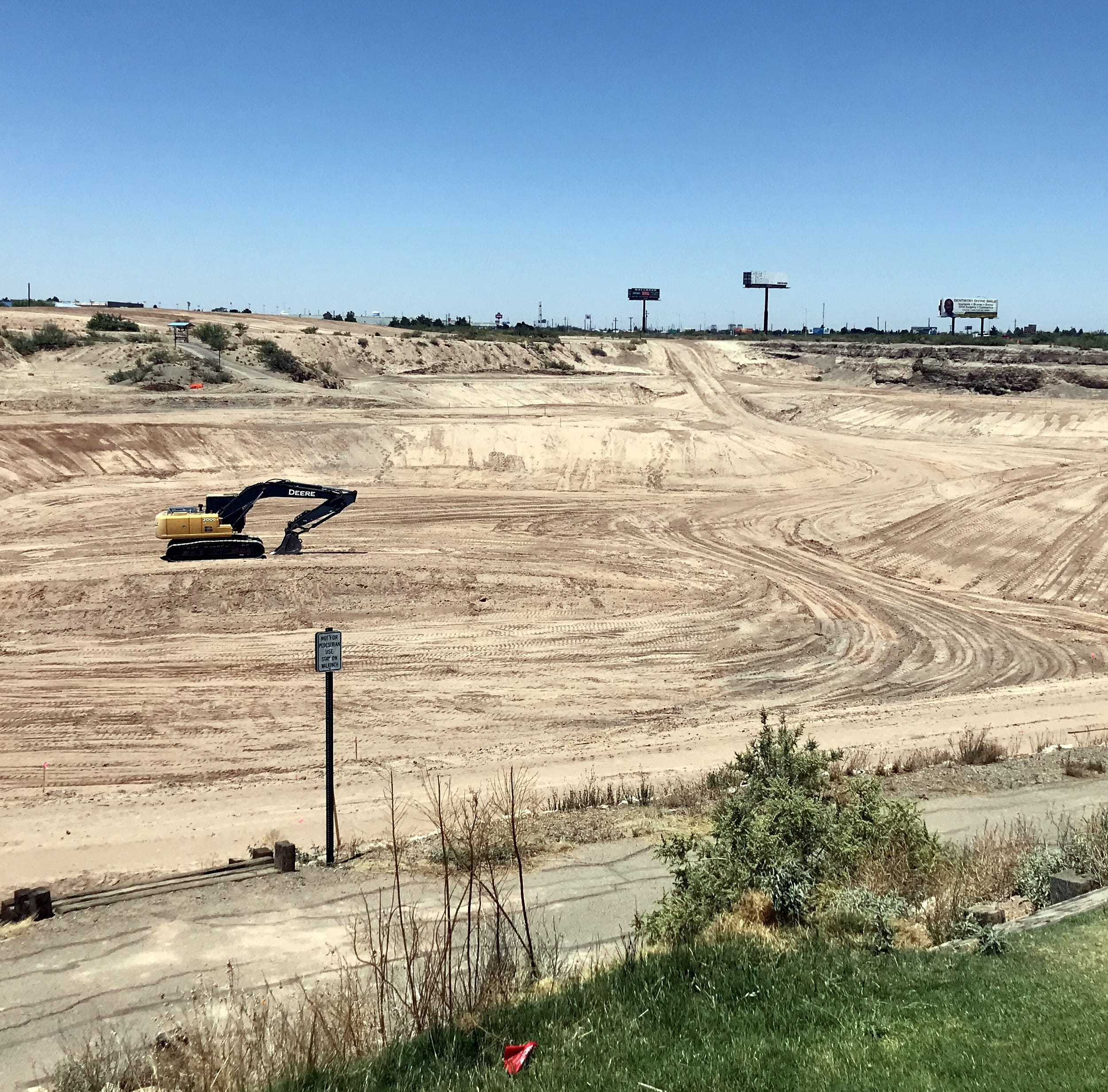 City officials give update on pond construction at Voiers 'Pit' Park in Deming, NM