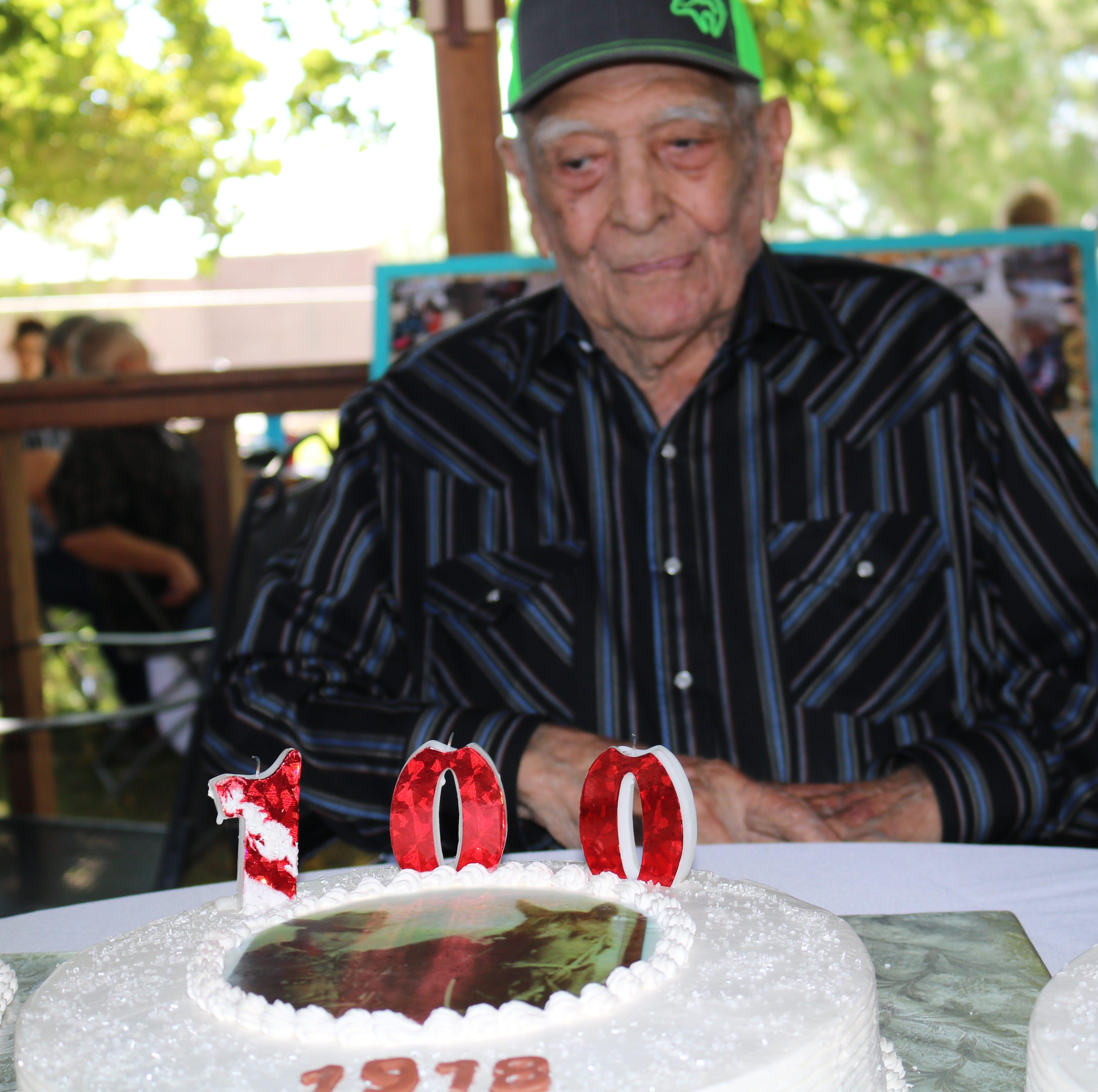 Las Cruces man celebrates 100th birthday