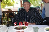 Benny Lopez, of Las Cruces, celebrates his 100th birthday on Sept. 15, 2018.