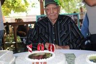 Benny Lopez celebrates 100th birthday