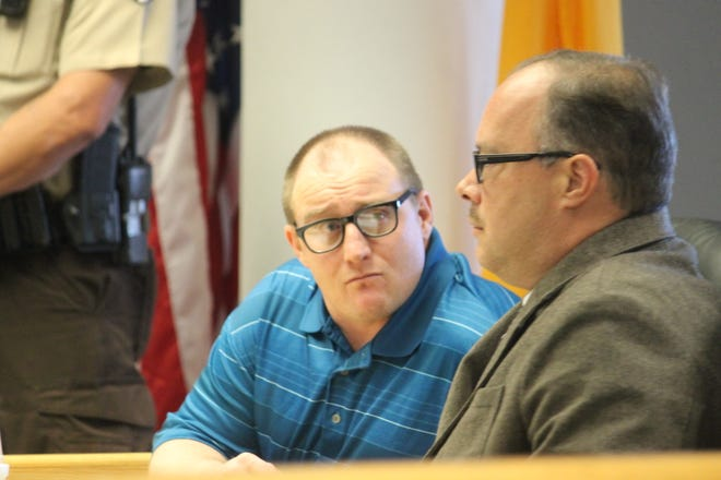 An Otero County jury in September found Christopher Mitchell, left, guilty in 12th Judicial District Court of repeatedly molesting an underage girl between 2011 and 2016.