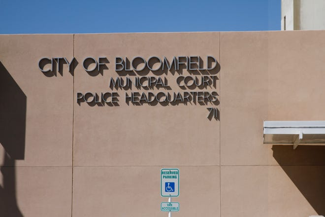 The City of Bloomfield's Police Department headquarters is pictured on Thursday.