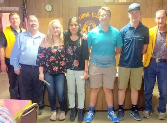 Evening Lions Club scholarships