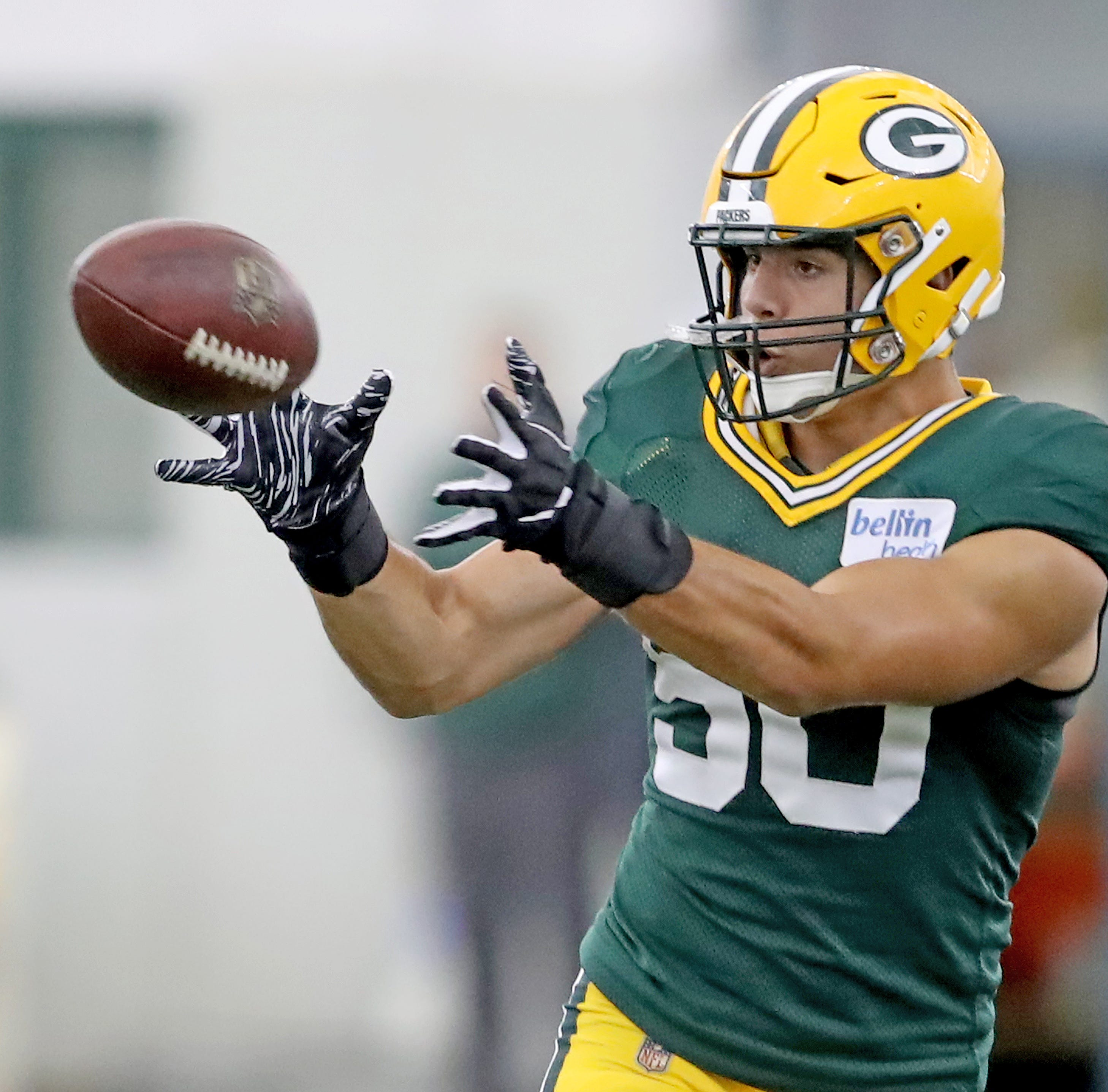 Green Bay Packers practice for Washington game September, 20, 2018