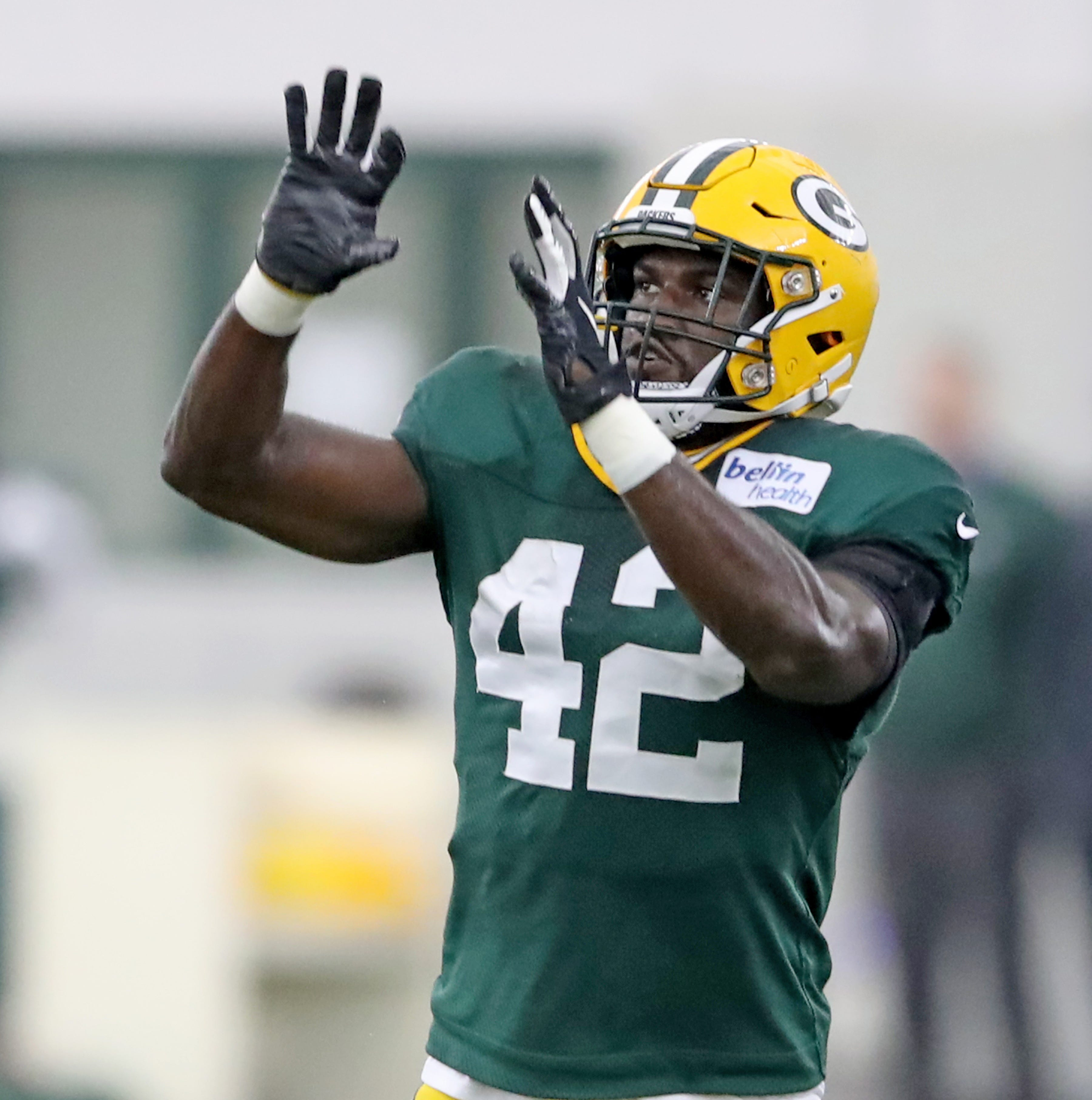 Packers rookie ILB Oren Burks could be returning at just the right time against Washington