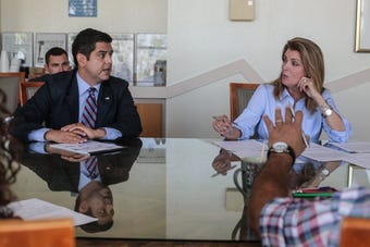 In Oct. 16 debate, Rep. Raul Ruiz and Kimberlin Brown Pelzer will make their cases to voters in California's 36th district.