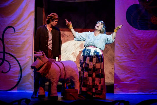 """The acclaimed musical """"Into the Woods"""" is being staged by Pensacola Little Theatre through Oct. 7."""