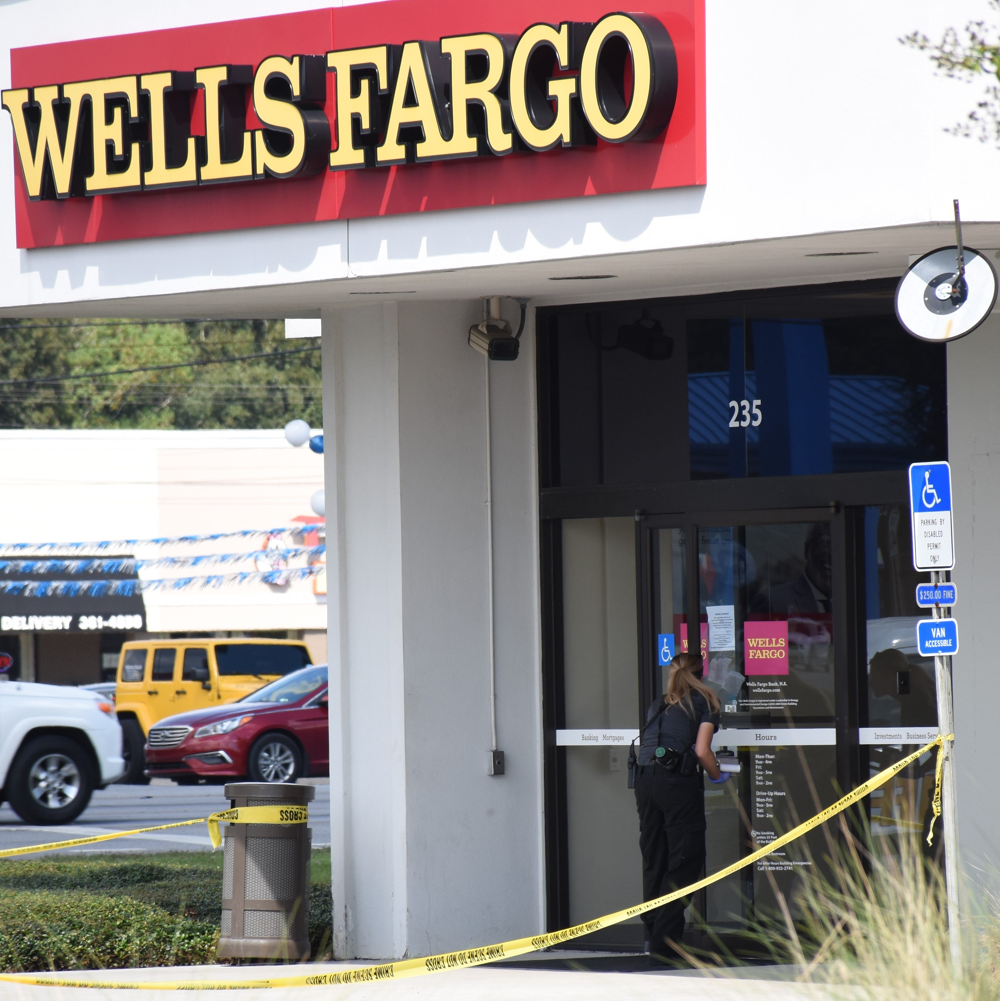 Suspect arrested in robbery of Wells Fargo on Nine Mile Road