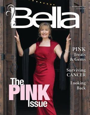 Bella Magazine's October model and breast cancer survivor Julie Campbell.