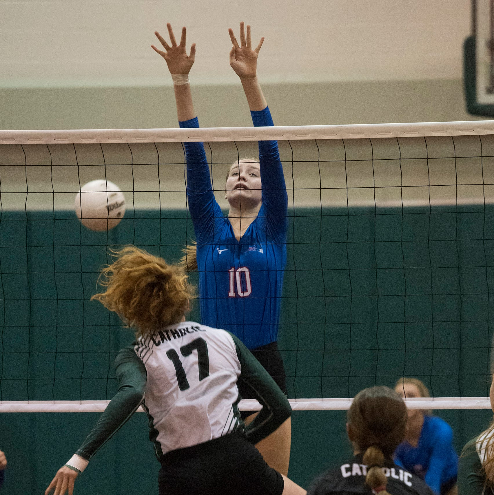 Pace, Catholic volleyball top districts after regular season