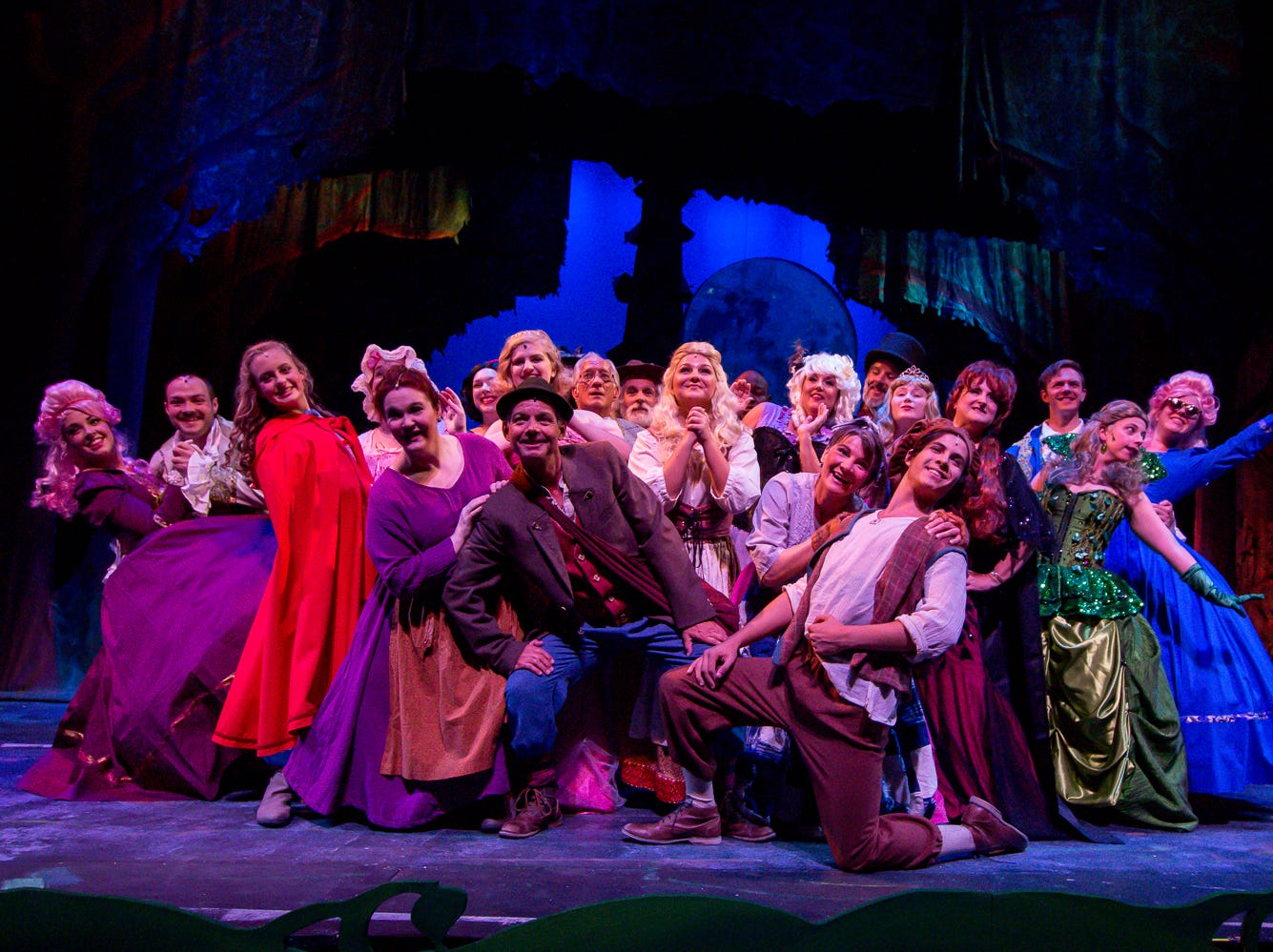 "Cast members of the Pensacola Little Theatre's production of ""Into the Woods"" run through a dress rehearsal of the musical on Monday, September 17, 2018."