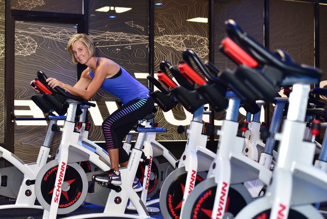Leigh Clark is an avid group fitness and cycle participant.