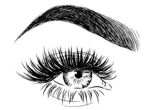 Eyebrow Lashes