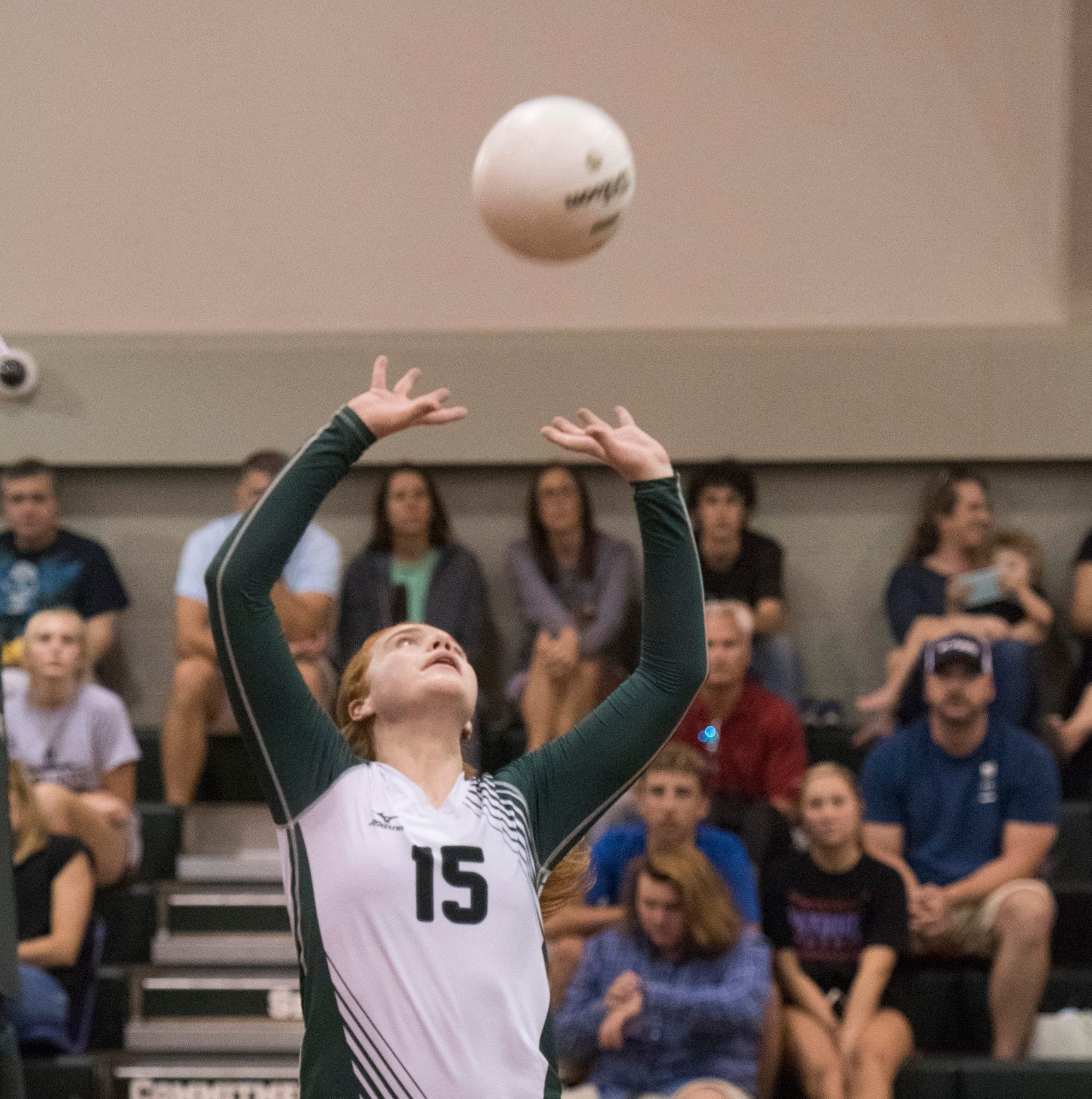 Catholic volleyball getting boost from freshman standouts
