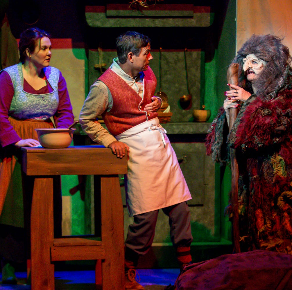 PHOTOS: 'Into the Woods' brings fairytale characters to life on PLT stage