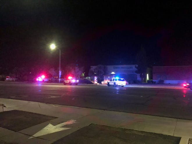 Chandler police were at the scene of a shooting and stabbing with multiple victims Wednesday night.