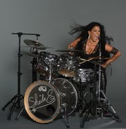 Singer and percussionist Sheila E. will play the Halloran Centre on Sunday with Kirk Whalum.