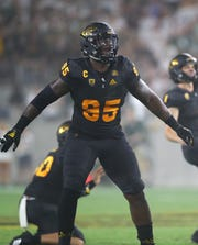 Arizona State defensive lineman Renell Wren.