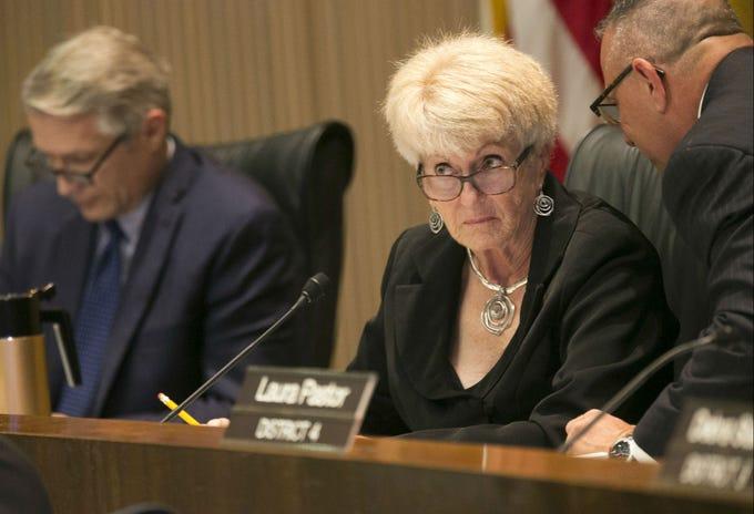 Phoenix Mayor Thelda Williams during a Phoenix City Council meeting in the Phoenix City Council Chambers on Sept. 19, 2018.