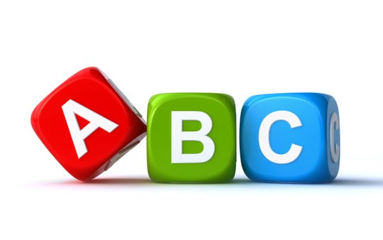 Our alphabet has 26 letters, also called graphemes.Those 26 letters represent 44 sounds or phonemes.