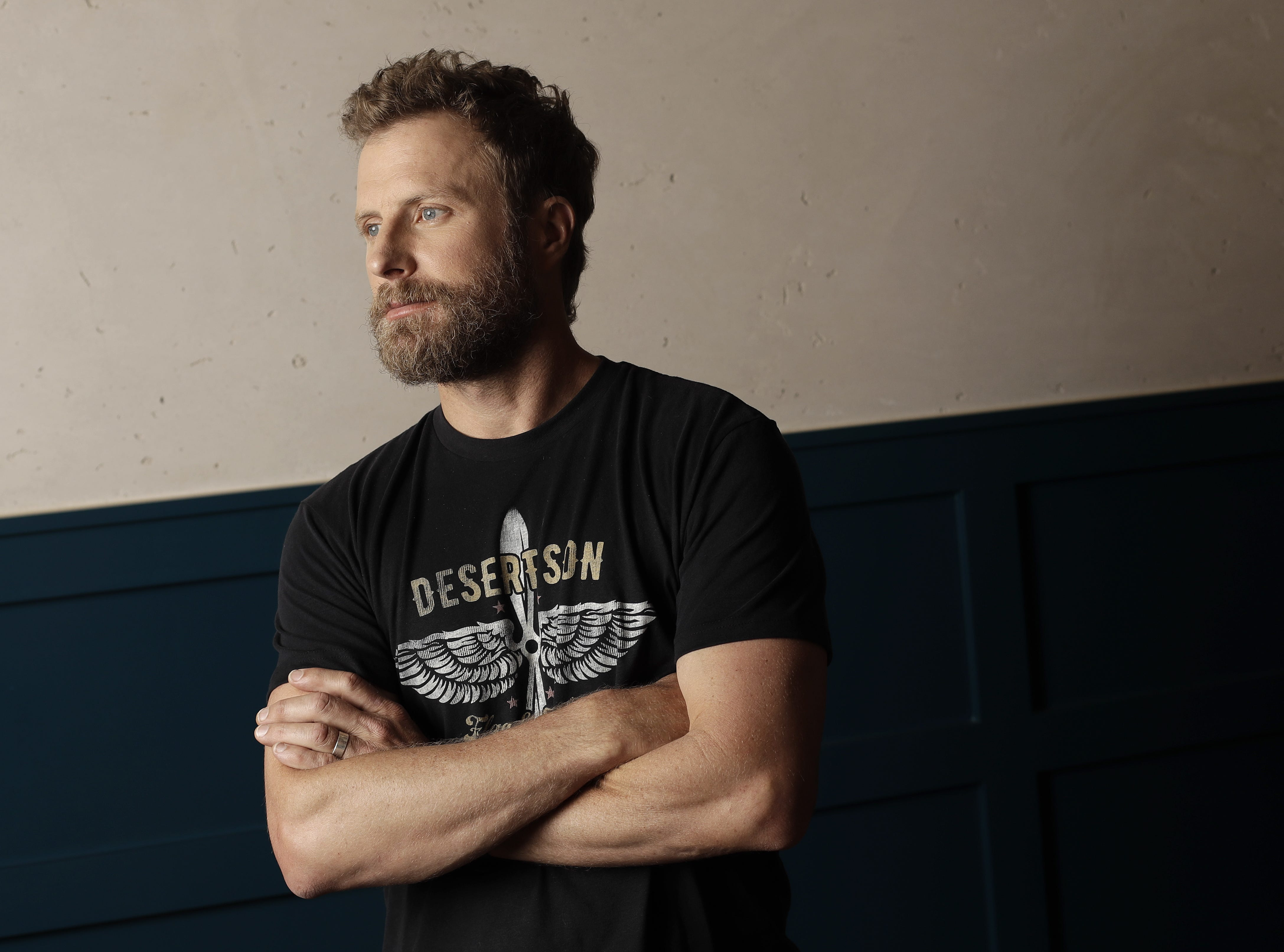 Dierks Bentley attends a photo session on May 7, 2018.