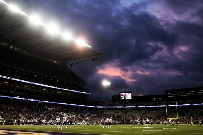 Husky Stadium, home of the Washington Huskies, in Seattle.