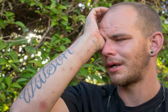 Mike Watson began using drugs days after his graduation from Mosaic and release from jail. He began living on the Phoenix streets, hustling drugs to make ends meet.