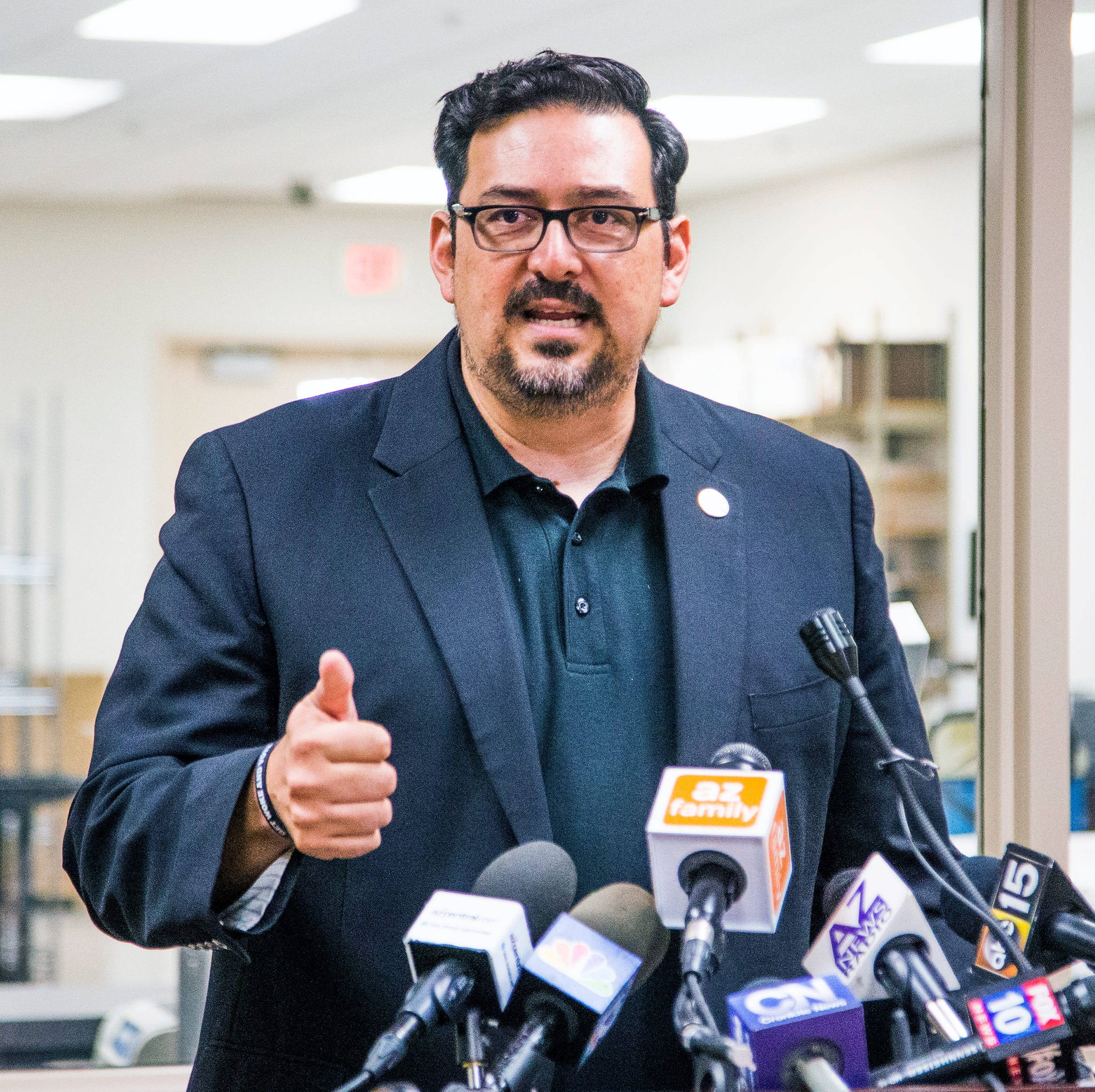 Maricopa County Recorder Adrian Fontes releases report he said he wouldn't