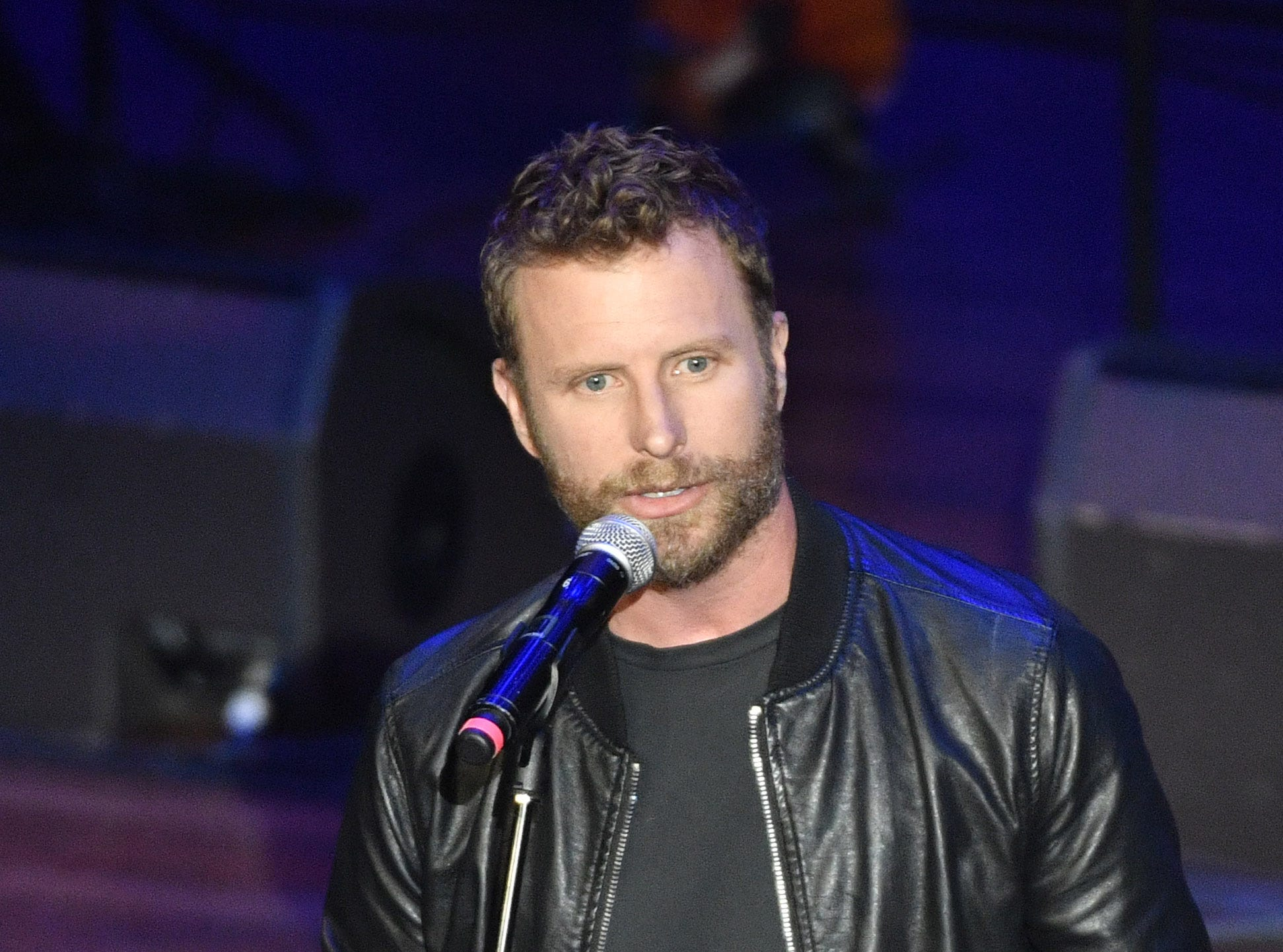 Dierks Bentley receives the Merle Haggard Spirit Award at ACM Honors on Aug. 22, 2018, in Nashville.