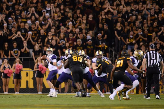 Ncaa Football Washington At Arizona State