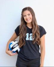 Glendale Cactus volleyball player Brittnie Henige.