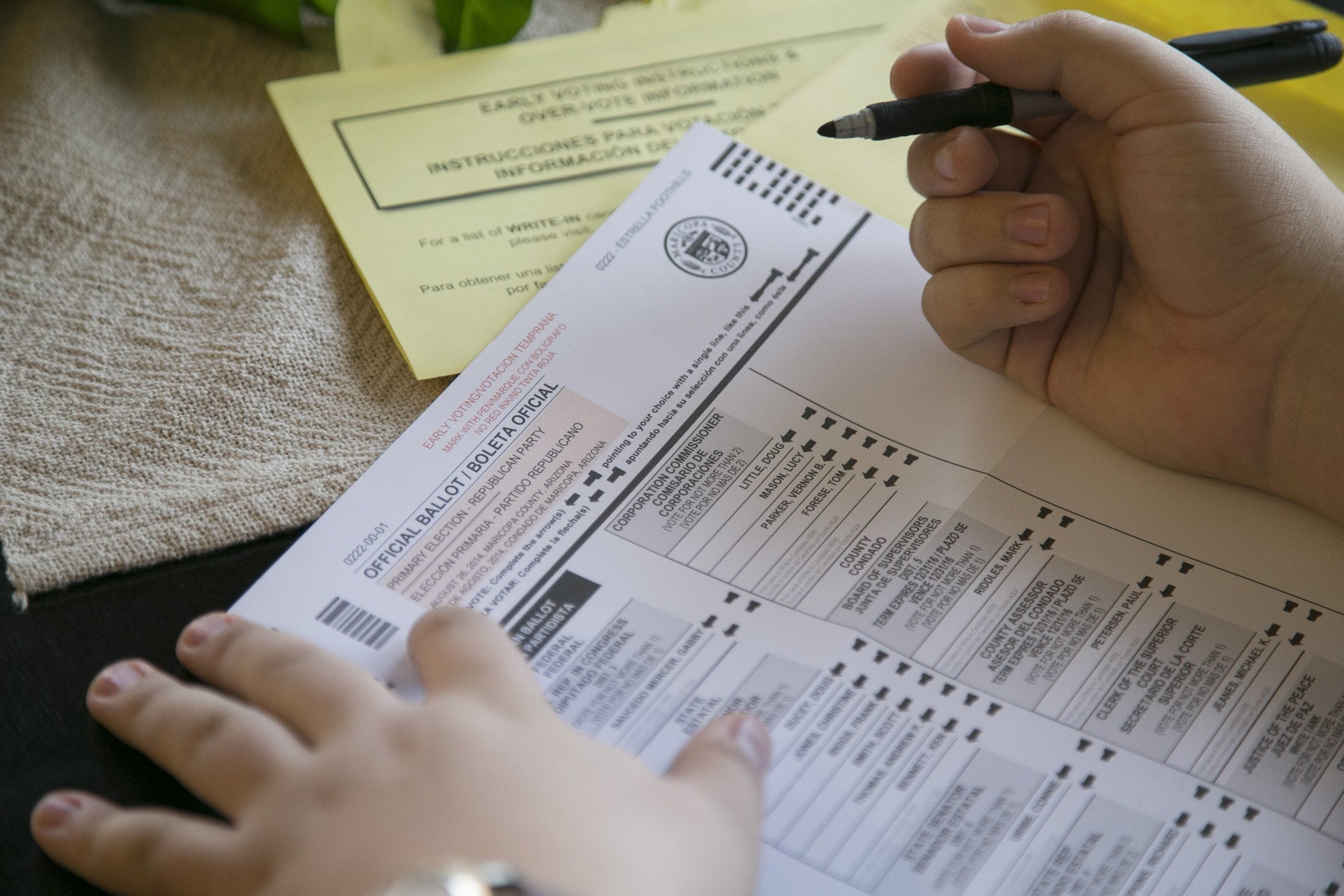 Judge rejects request to send mailers warning voters their registration may be out of date | AZ Central