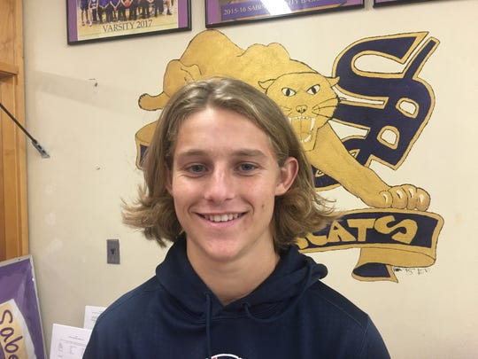 Tucson Sabino quarterback Jimmy Hamilton is this week's Academic All-Star.