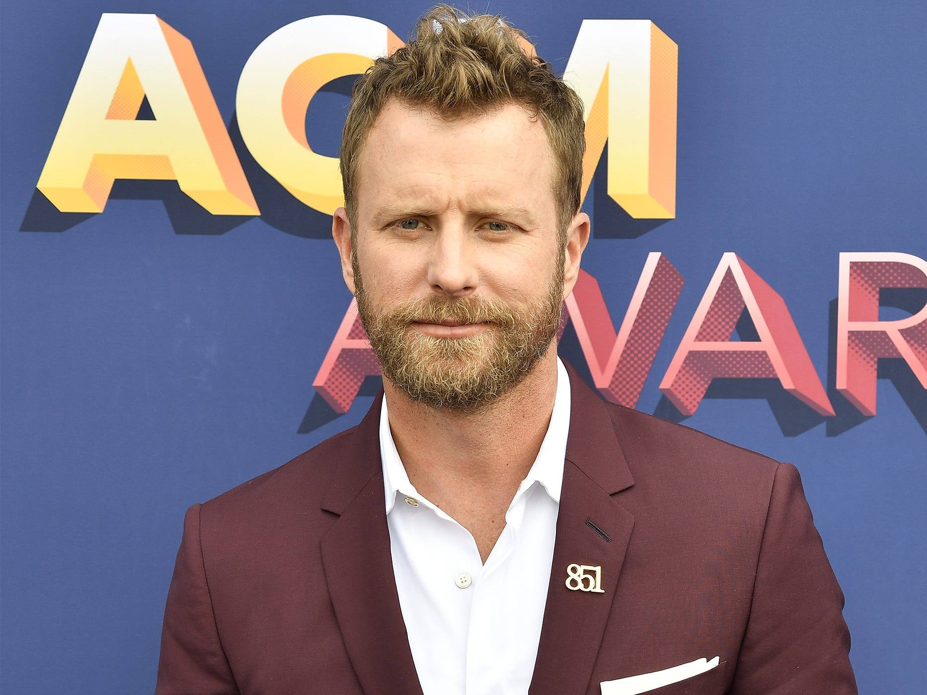 Dierks Bentley attends the 53rd Academy of Country Music Awards at the MGM Grand Garden Arena on April 15, 2018, in Las Vegas.