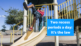 An ASU child expert says schools are skirting a new Arizona law that requires two meaningful recess periods a day. Columnist Joanna Allhands explains.