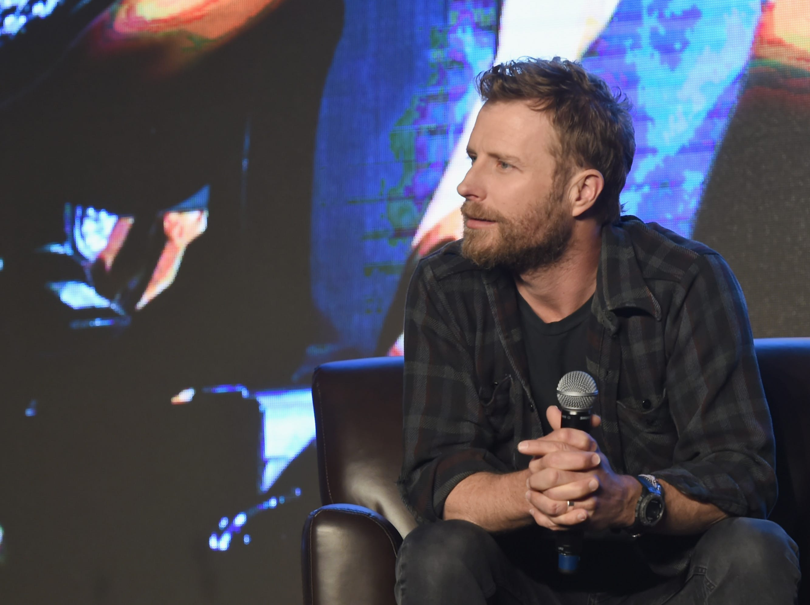 Dierks Bentley speaks during CRS 2018 Day 1 on Feb. 5, 2018 in Nashville, Tennessee